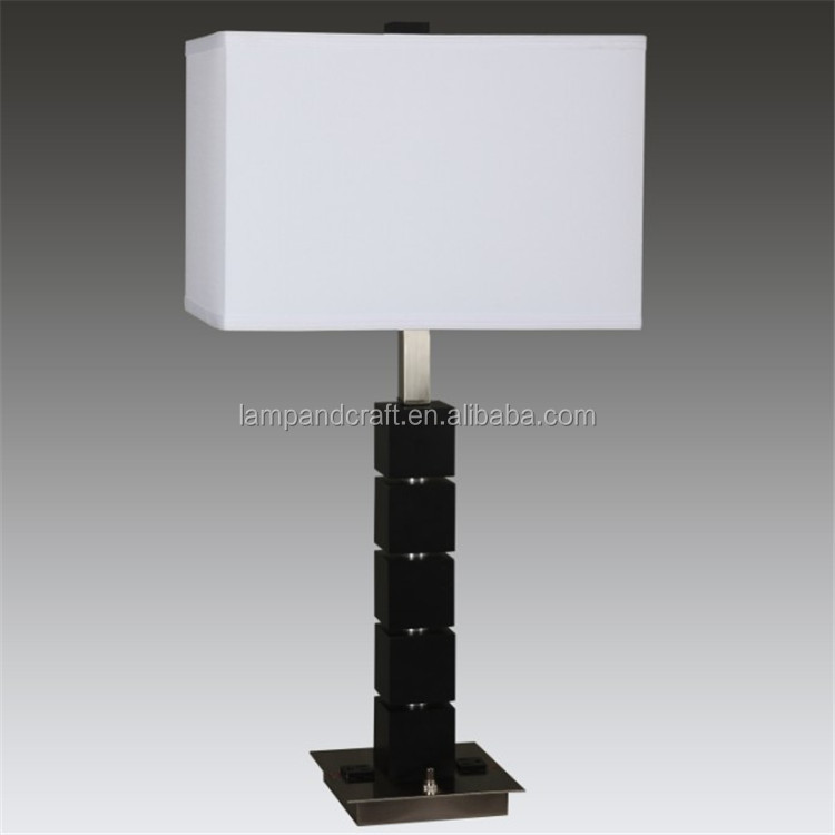 2015 ul cul hotel handicraft table lamp with usb port and. Black Bedroom Furniture Sets. Home Design Ideas