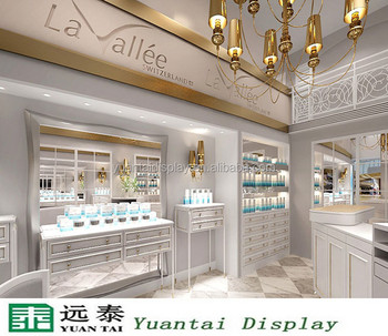 European Style Decorating Ideas For Barber Salon Counter Display