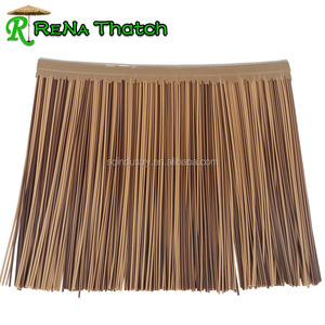 Cheap plastic reed thatch, synthetic reed