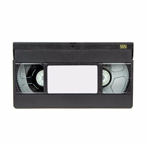 VHS T-120 shell for tape loading VHS shell V0