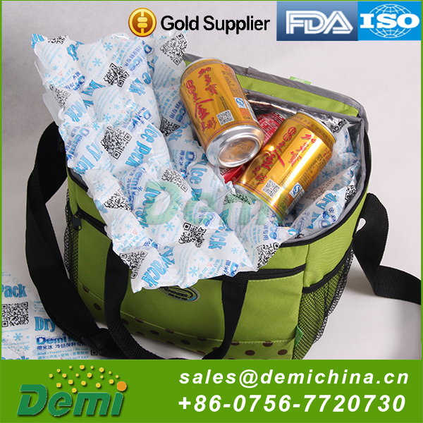 Custom Durable Using Reusable Cooler Gel Dry Ice Pack
