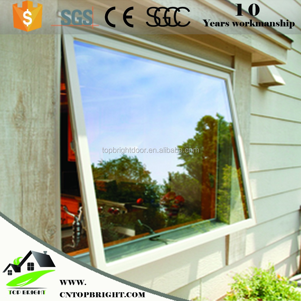 China supplier new product PVC/UPVC Top Hung window,Awning Window