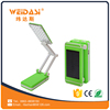 trend 2017 modern home product children reading light solar led desk lamp wholesale