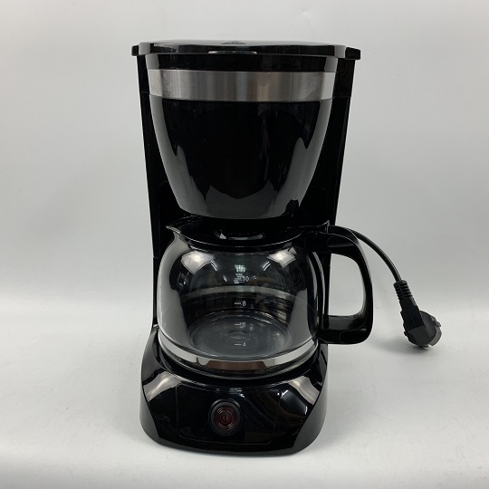 800W 10 Cups Drip Coffee Maker with glass cup For Kitchen, Office, Home Use