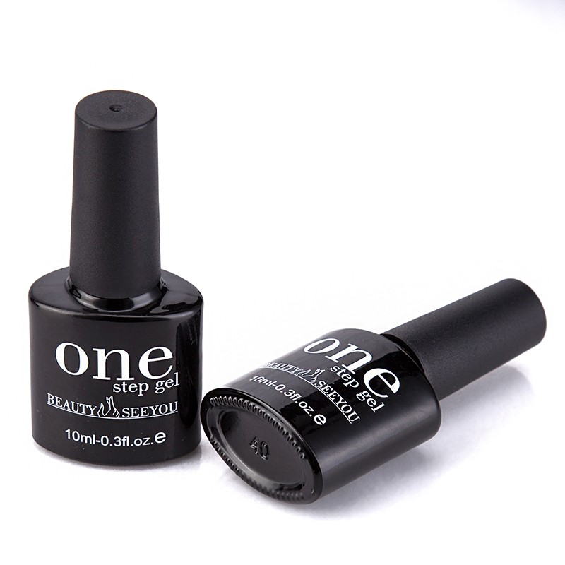Wholesale cheap soak off 3 in 1 gel polish one step gel nail polish beauty cosmetics choose color uv gel