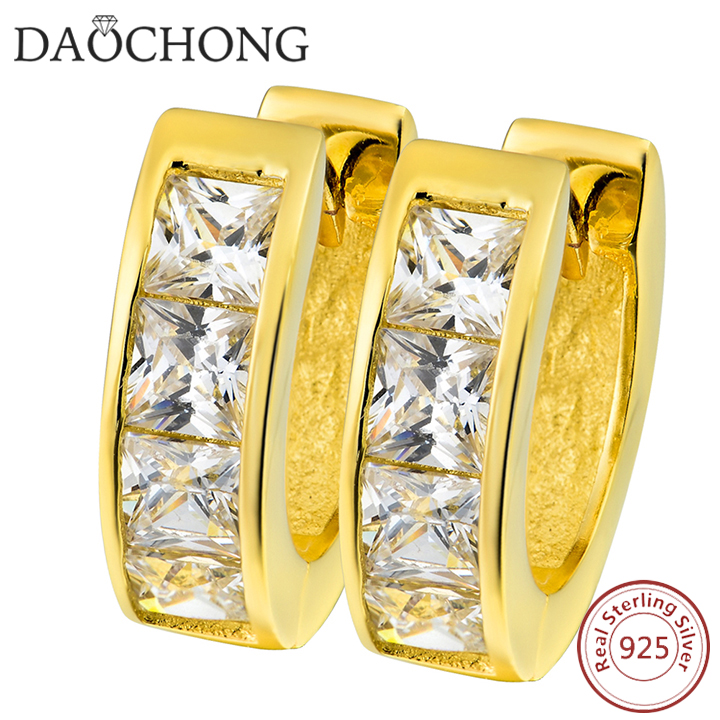 OEM Services Diamond Earrings For Gifts Gold Earring Designs Pakistani