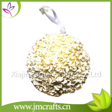 Mejores ventas de boda decorativo rose colgante kissing bola made in China