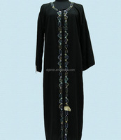 Muslim Dress Moroccan Caftan Baju Kurung Indonesia Women Wear Dubai Wbaya