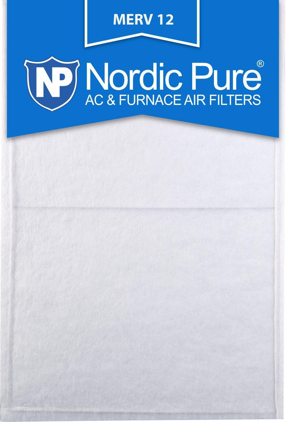 Nordic Pure 14x30x_1/2_M12-6 1/2-Inch Air Filter MERV 12, Box of 6