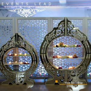 Elegant Special Designed Silver VASE Wedding Backdrop for Wedding Event Decoration from Events Lead Supplies