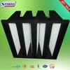 Clean Room High Efficiency V bank filter H13 Air Filter Unit