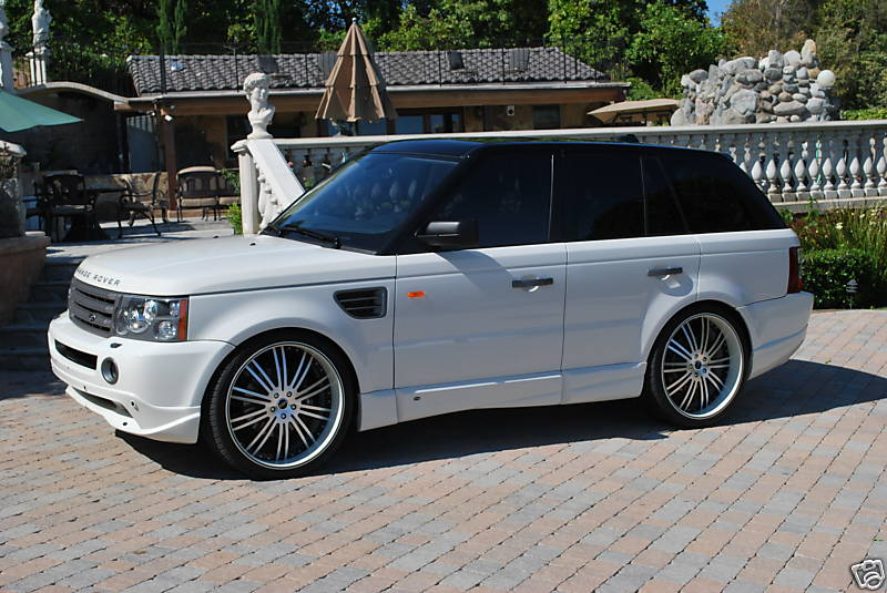 2006 range rover sport white images. Black Bedroom Furniture Sets. Home Design Ideas
