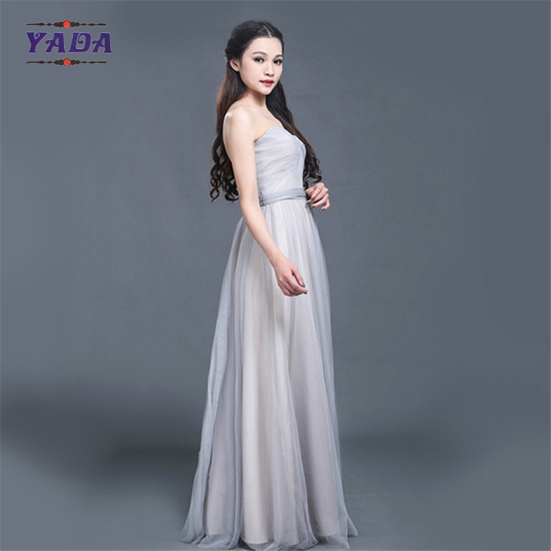 New design white cheap Chinabridesmaid dresses with high quality
