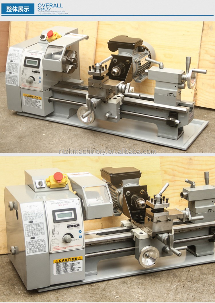 Wm210v Mini Metal Lathe Mini Torno With Cheap Price Buy