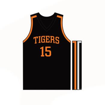 Black Usa Basketball Jersey Design Template Custom Shooting Shirts