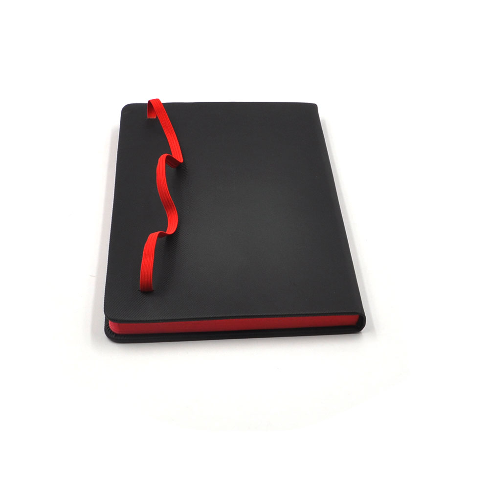 custom pu leather cover diary notebook for office supplies