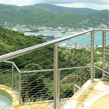 Diy Cable Railing Balustrade With Stainless Steel Wire Ropes Buy