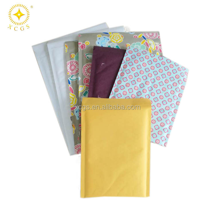 High quality custom self seal kraft paper bubble mailer padded bag