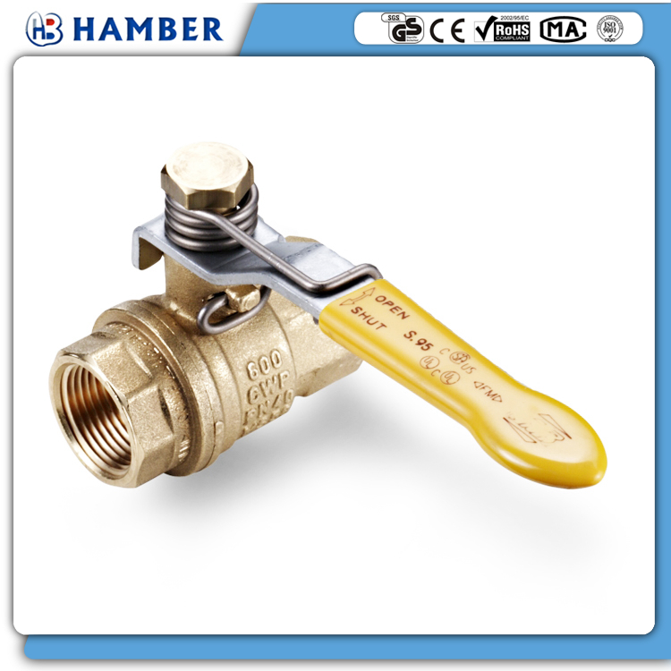HAMBER-1211054 self closing ball valve