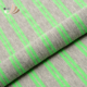Wholesale cheap popular green yarn dye striped jersey knit fabric