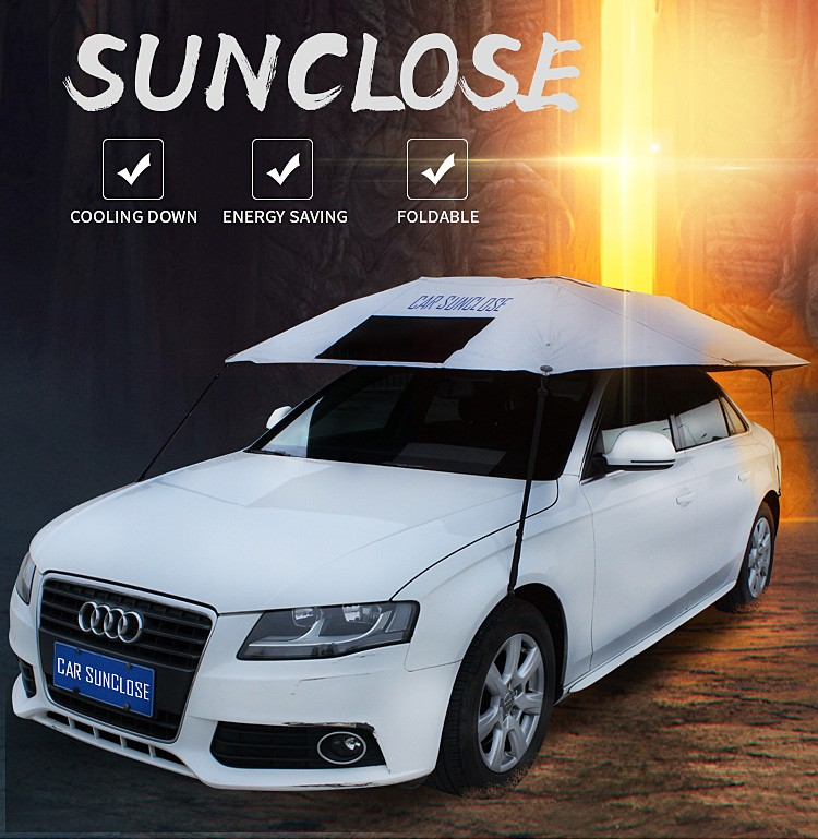 Sunclose Car Umbrella Hail Protection Car Cover Car Sun