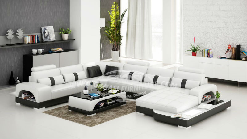 GANASI Comfortable Sofafurniture Living Room Set China Free Shippingleather Sofa Sale