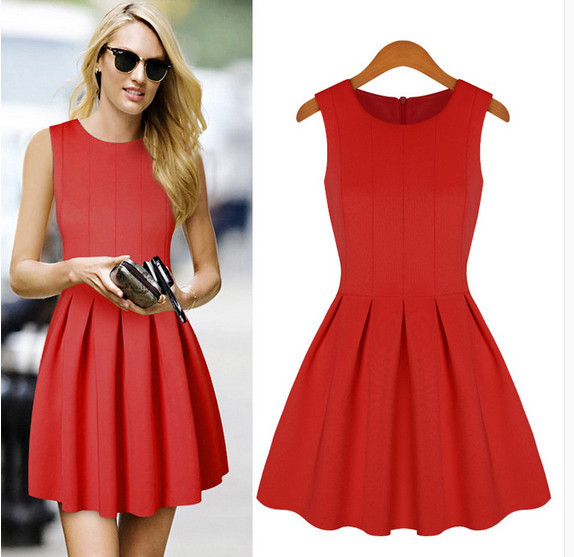 Ladies Office Uniform Skirts Sleeveless Black Pictures Of Girls In ...