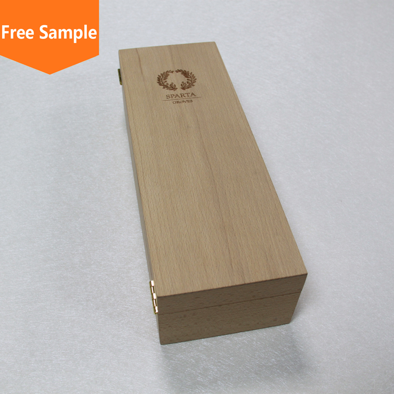 Newest selling good quality portable wooden boxes for wine bottles