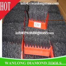 diamond antique brush for marble grit #120, wanlong diamond tools