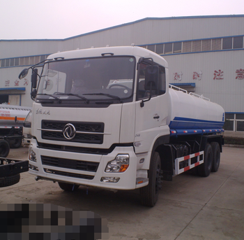 20000 liters fuel tanker truck dongfeng 3 axle fuel tanker for sale