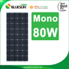 4BB Bluesun high efficiency and protable 12V Mono solar panel 80W 90w 100w