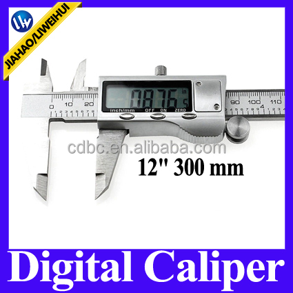 "12"" 300mm stainless steel digital vernier caliper Digital Display Vernier Caliper"