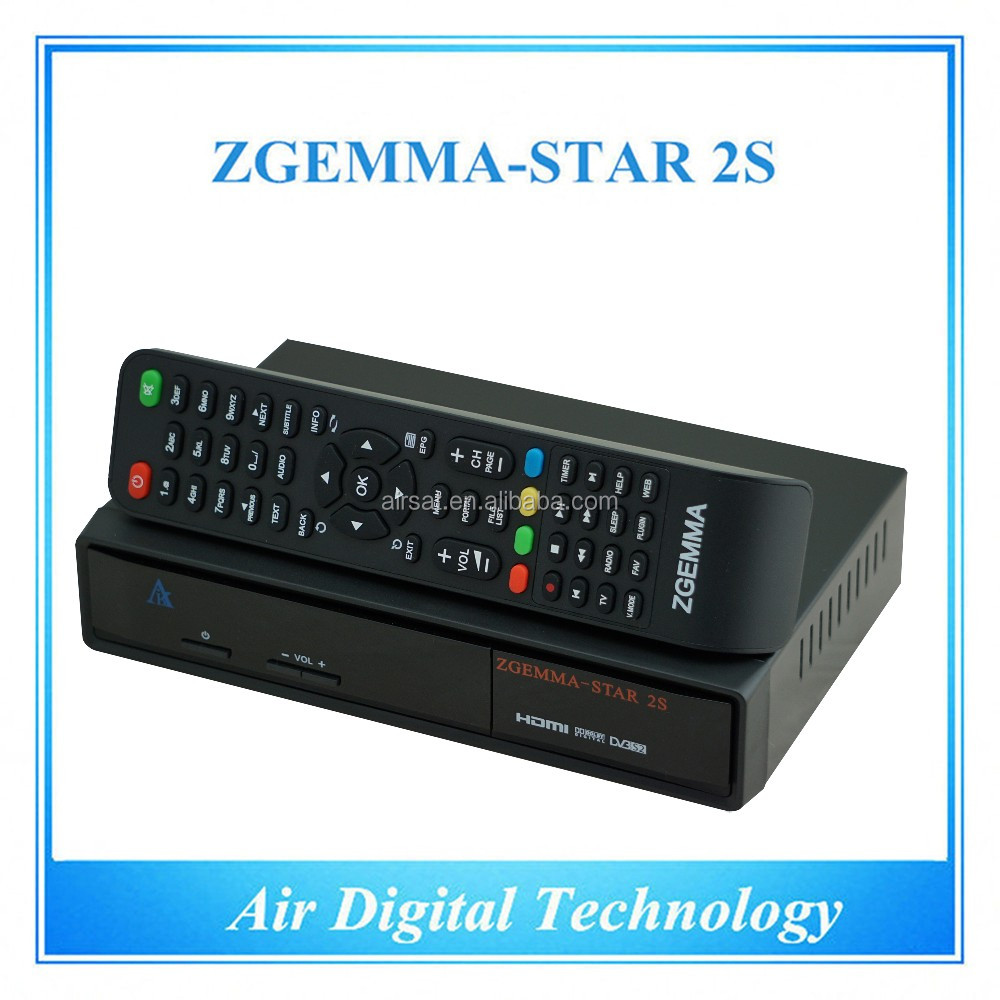 Zgemma-star 2s Satellite Receiver Hd Dvb S Dvb S2 Twin Tuner Satellite  Decoder No Dish Fta With Iptv - Buy Satellite Decoder,Cheap Fta Satellite