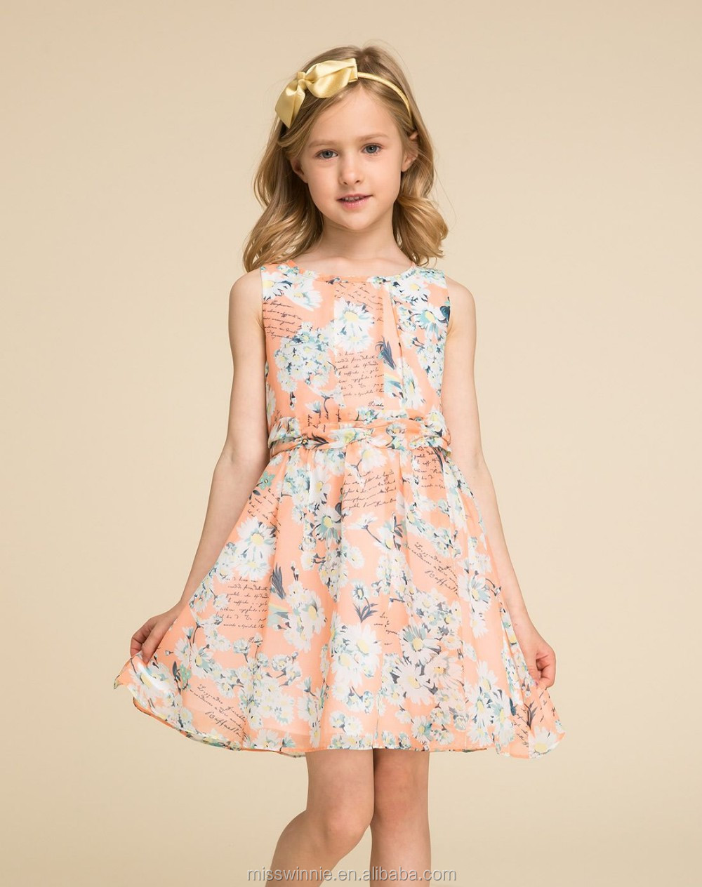 b4f65acaad78 colorful printing baby frock designs fancy 100% cotton kids beautiful model  dresses