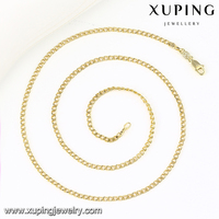 43124 Women 2016 Necklace, 14k gold chain necklace, Fashion Gold Necklaces Figaro chain