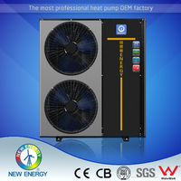 alibaba express china heatpump air to water split system air conditioners R410a inverter heat pumps