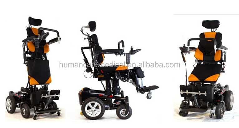 electric standing up wheelchair standing frame