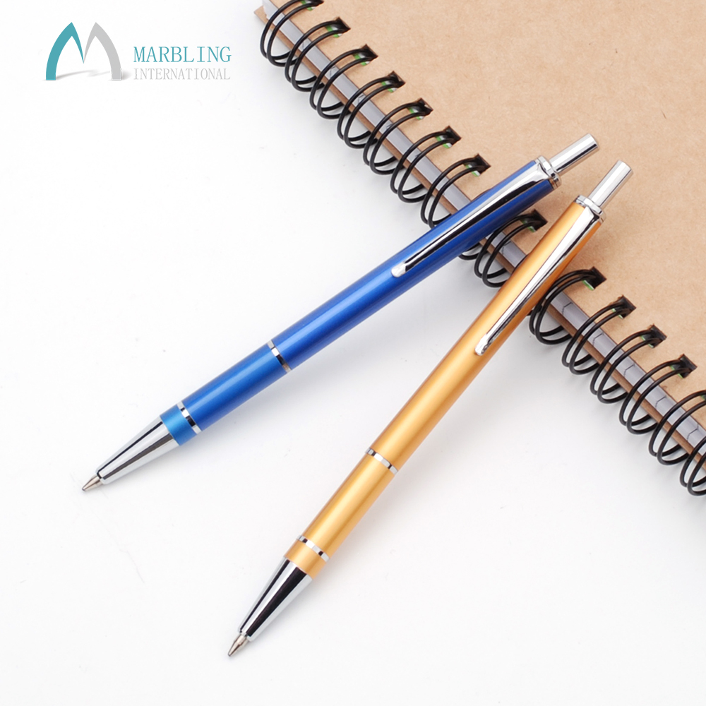 Marbling Mini student office Metal Aluminium Cheap Mechanical Pencil Set MR056P