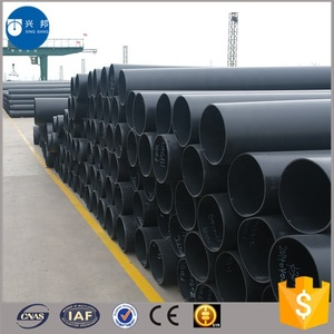 high strength yellow polyethylene pipe for underground hot water supply