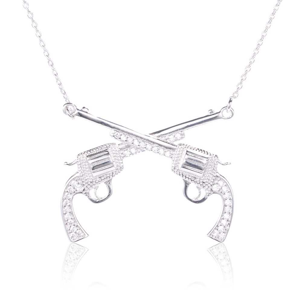 Hip-hop sterling silver 925 chain jewelry necklace for men <strong>fashion</strong>