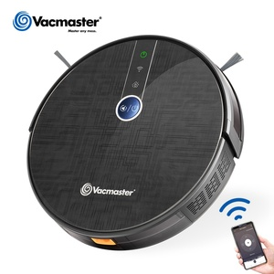 Vacmaster mini smart good Robot Vacuum Cleaner with 300ml water tank,WIFI APP, Japanese Nidec brushless motor 1800PA,V16EU