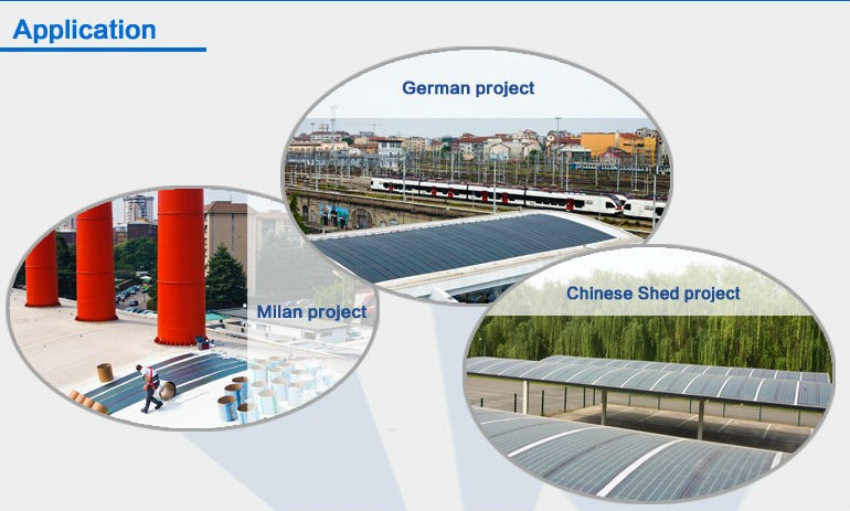 thin film solar panel applications