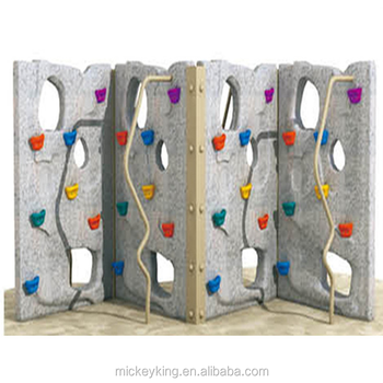 Kids Outdoor Toy Gas Ed Skateboard Plastic Rock Climbing Wall