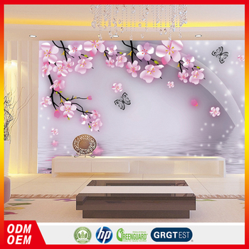 Pink Small Flower Hd Background Wallpaper 3d Flower Wall Murals For