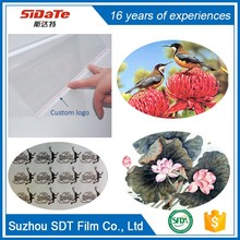 Stable quality 17X30 semi transparent film