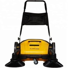 China JL920F Manual Push Hand Propelled Rotary Broom Garden Road Sweeper