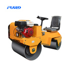 Double Drum Roller Compact Rollers Smooth Drum Road Roller for Compacting Gravels Sands