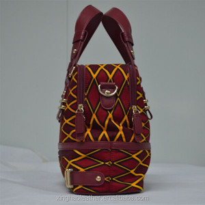 d537267e9d Customized handbag Vintage Style African Wax Print tote bags ...