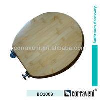 bathroom accessary bamboo toilet seat BO1003