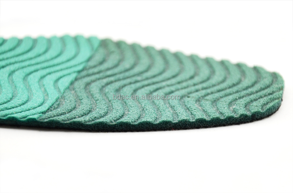 soft foam sponge breathable comfort insoles natural rubber insoles